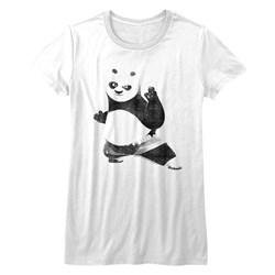 Kung Fu Panda - Juniors Strike A Pose T-Shirt