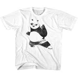 Kung Fu Panda - unisex-child Strike A Pose T-Shirt