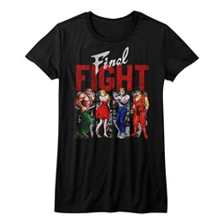 Final Fight - Juniors Panels T-Shirt
