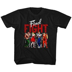 Final Fight - unisex-baby Panels T-Shirt
