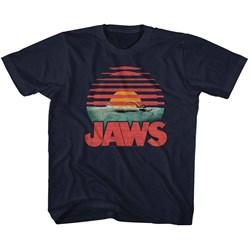 Jaws - unisex-child Sliced T-Shirt