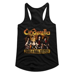 Cinderella - womens Dudes Forever Racerback Tank Top