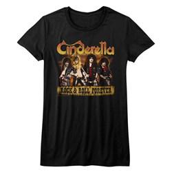 Cinderella - Juniors Dudes Forever T-Shirt