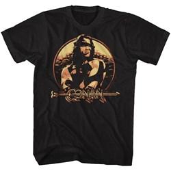 Conan - Mens Shield T-Shirt