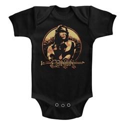 Conan - unisex-baby Shield Onesie