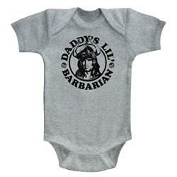 Conan - unisex-baby Daddy'S Barbarian Onesie