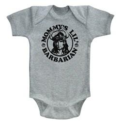 Conan - unisex-baby Mommy'S Barbarian Onesie