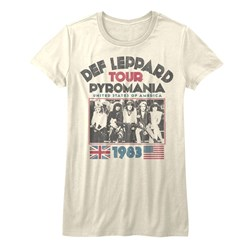 Def Leppard - Juniors Pyro Tour T-Shirt