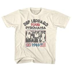 Def Leppard - unisex-child Pyro Tour T-Shirt