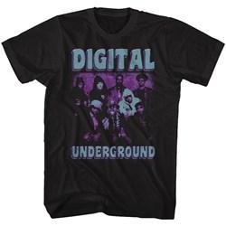 Digital Underground - Mens Funky Purp T-Shirt