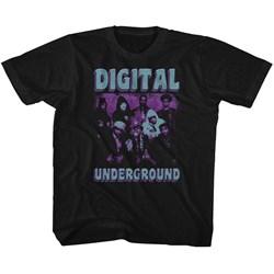 Digital Underground - unisex-baby Funky Purp T-Shirt