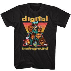 Digital Underground - Mens Duheads T-Shirt