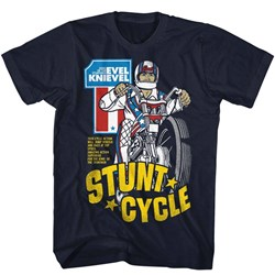 Evel Knievel Mens Stunt Cycle T-Shirt