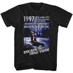 Escape From New York - Mens Insane T-Shirt