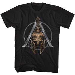 Assassins Creed - Mens Helmet Symbol T-Shirt