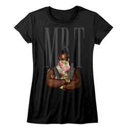 Mr. T - Juniors Flower T T-Shirt