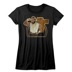 Mr. T - Juniors Mr. T Gun T-Shirt