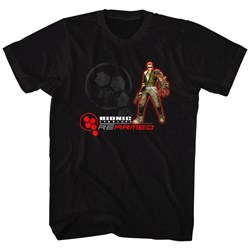 Bionic Commando - Mens Rearmed T-Shirt