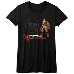 Bionic Commando - Womens Rearmed T-Shirt