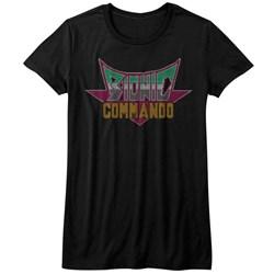 Bionic Commando - Womens Pixel Logo T-Shirt