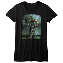 Bionic Commando - Womens Damaged Road T-Shirt