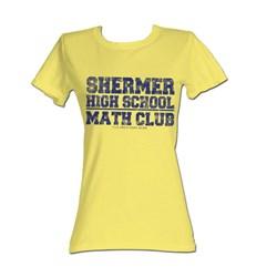 Breakfast Club, The - Math Club Womens T-Shirt In Banana