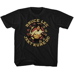 Bruce Lee - unisex-child Jkd Master T-Shirt