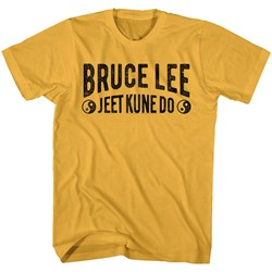 Bruce Lee - Mens Jeet Kune Do Text T-Shirt