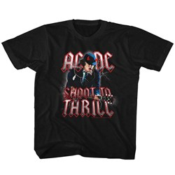 Ac/Dc - unisex-child Shoot To Thrill T-Shirt