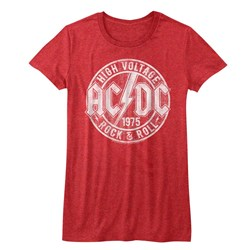 Ac/Dc - Juniors R&R T-Shirt