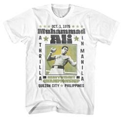 Muhammad Ali - Mens A Thrilla T-Shirt