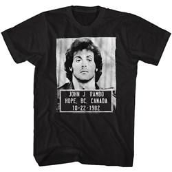 Rambo - Mens Mugshot T-Shirt