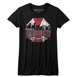 Resident Evil - Juniors Raccoon City T-Shirt