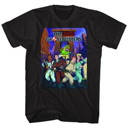 Ghostbusters Mens Poster-Ish T-Shirt