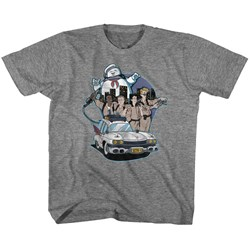 The Real Ghostbusters - unisex-child Bustin' Buddies T-Shirt