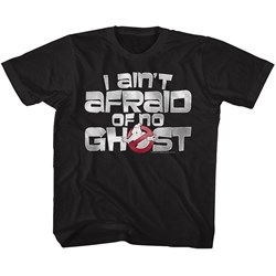The Real Ghostbusters - unisex-child Ain'T Afraid T-Shirt
