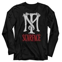 Scarface - Mens Tm Scarface Long Sleeve T-Shirt