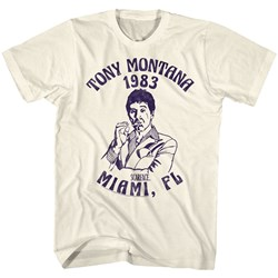 Scarface - Mens Miami '83 T-Shirt