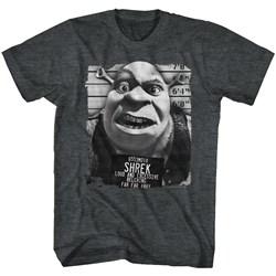 Shrek - Mens Shrek Mugshot T-Shirt