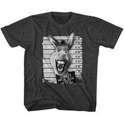 Shrek - unisex-child Donkey Mugshot T-Shirt