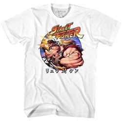 Street Fighter - Mens Ryu Vs Ken T-Shirt