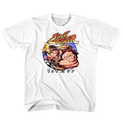 Street Fighter - unisex-child Ryu Vs Ken T-Shirt