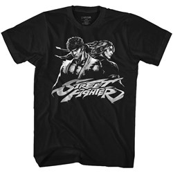 Street Fighter - Mens Two Dudes T-Shirt