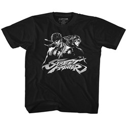 Street Fighter - unisex-child Two Dudes T-Shirt