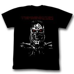 Terminator - Mens Second Term T-Shirt in Black