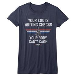 Top Gun - Juniors Ego Check T-Shirt