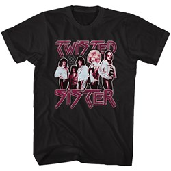 Twisted Sister - Mens Pretty In Pink T-Shirt