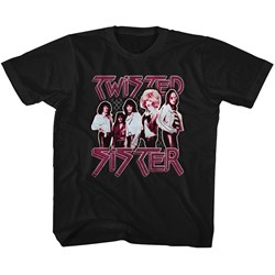 Twisted Sister - unisex-child Pretty In Pink T-Shirt