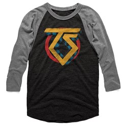 Twisted Sister - Mens Vintage Ts Logo 3/4 Sleeve Raglan