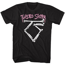 Twisted Sister - Mens Bone Logo T-Shirt